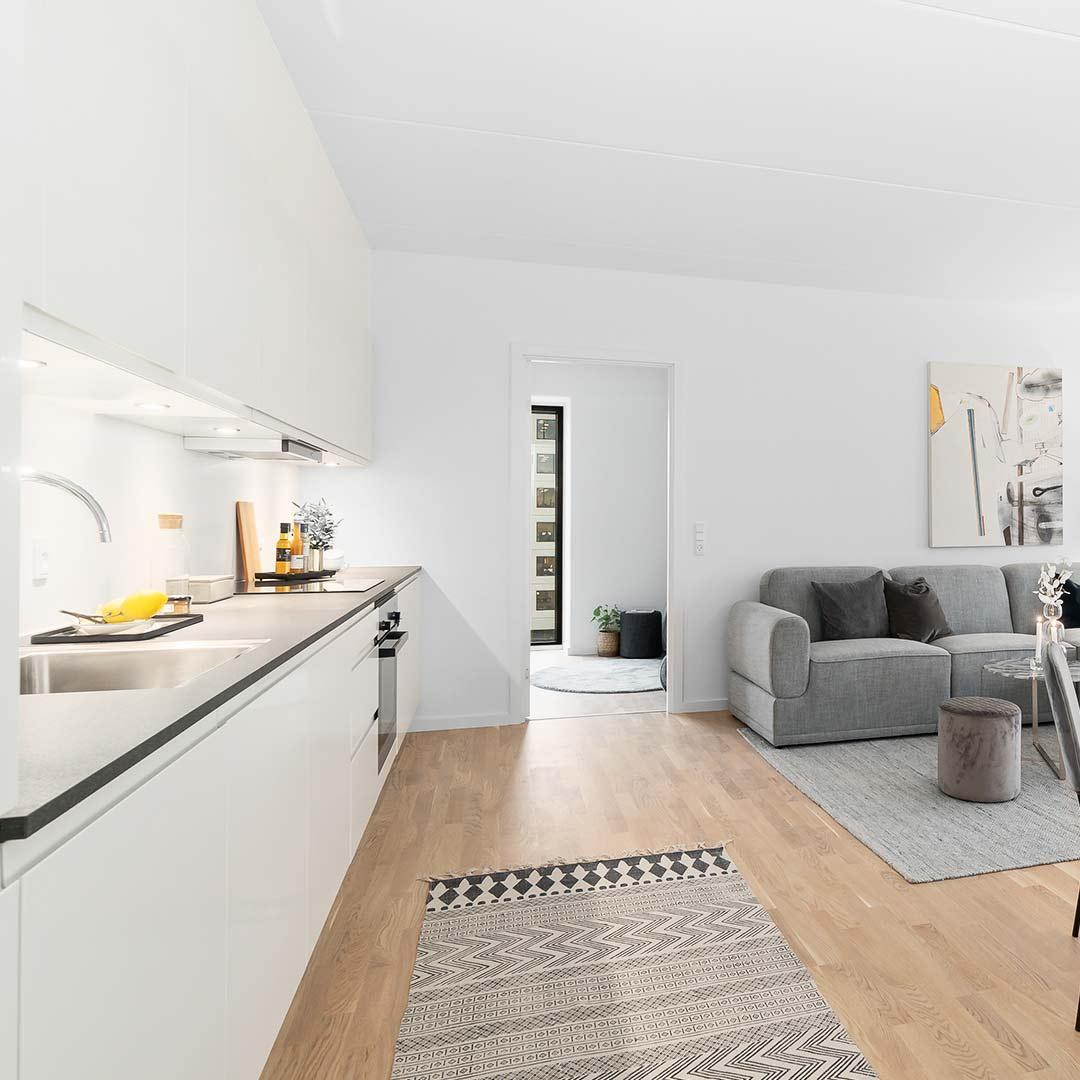 Køkken i lejlighed